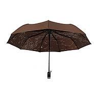 """Женский зонт-полуавтомат Flagman """"Звездное небо"""", темно-коричневый, 711-4, фото 1"""