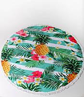 Пляжный летний коврик