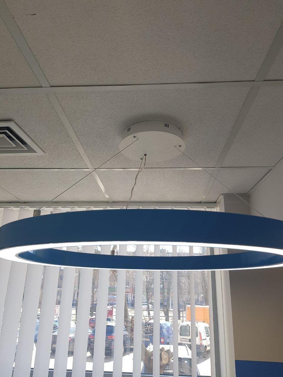 Декоративний світильник Кільце60 світлодіодний підвісний кільцевий 60см 30Вт
