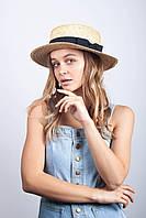 Бумажная шляпка для пляжа