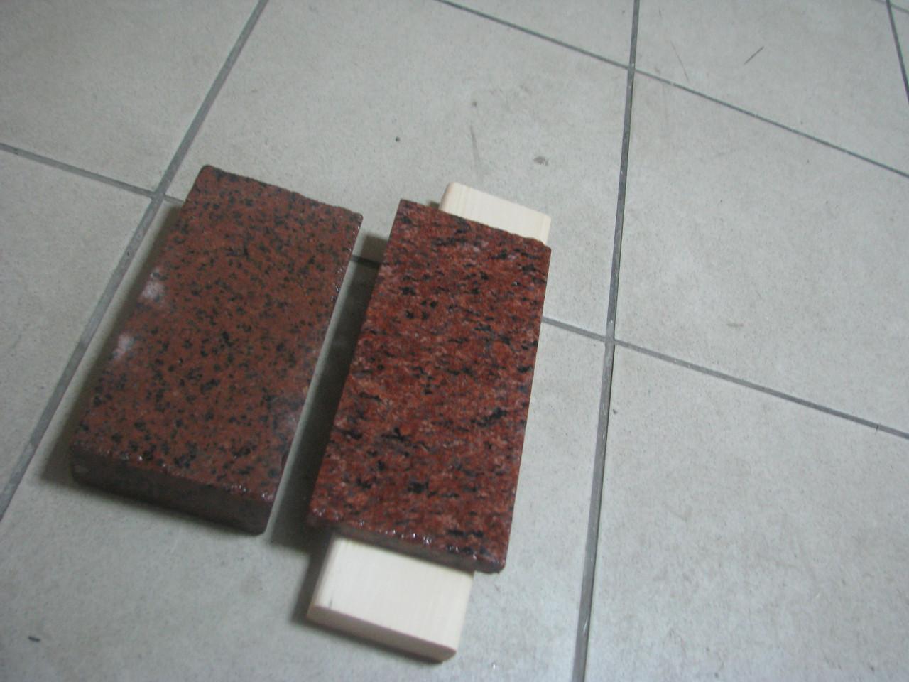 Плитка Капустинского месторождения полировка 30 мм