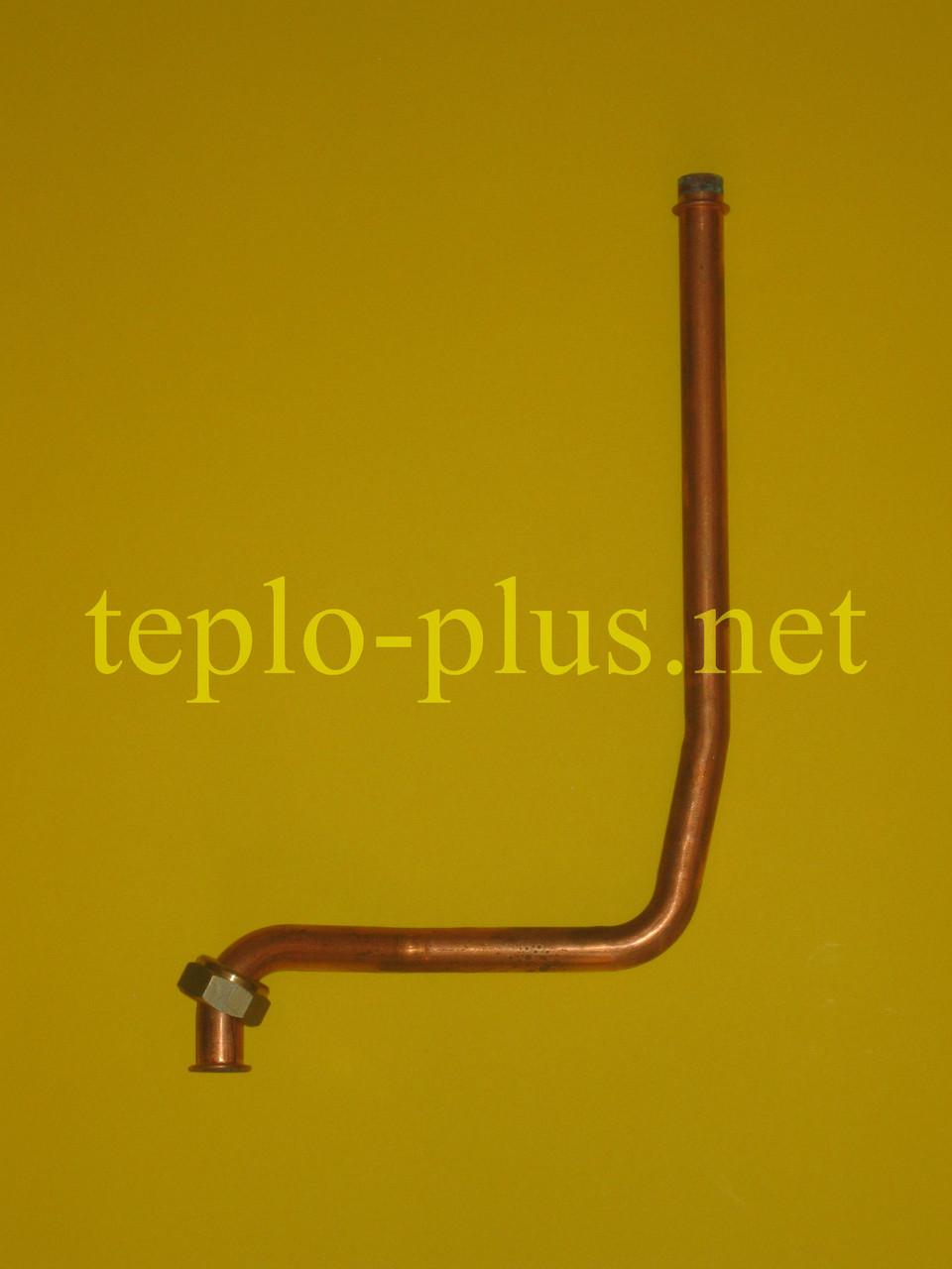 Трубка входа ГВС (датчик протока-теплообменник) Ferroli Domiproject C32D, Domina C28 N