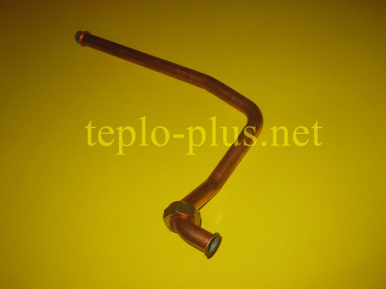 Трубка входа ГВС (датчик протока-теплообменник) Ferroli Domiproject C32D, Domina C28 N, фото 3