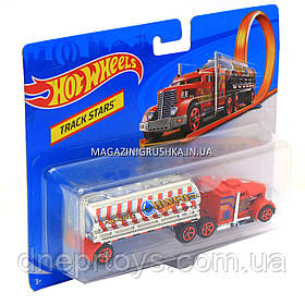 Модель машинка «Hot wheels» трейлер BFM60, 15 см