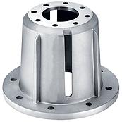 Фланець центрувальні H132 (B14) Дзвін для апарату високого тиску ( Корпус захисту муфти )