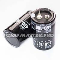 Конденсатор 450V 180uF (105°C) Nippon Chemi-Con