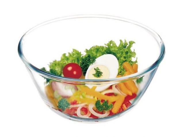 Салатник стеклянный Simax 6636 Color * 7856