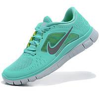 Кроссовки для бега Nike Free Run 2 Найк Фри Ран, бирюзовые р.(36), фото 1