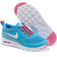 Женские кроссовки Nike AIR MAX THEA синие - Реплика р.(40)