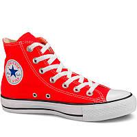 Кеды Converse высокие красные - Топ качество! р.(36, 36.5, 42, 43)
