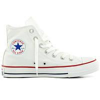 Кеды Converse высокие белые - Топ качество! р.(35, 36.5, 42.5, 43)