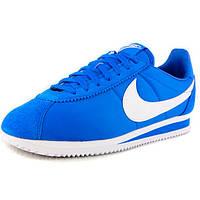 Женские кроссовки, мужские кроссовки Nike Classic Cortez Nylon 09 Синие