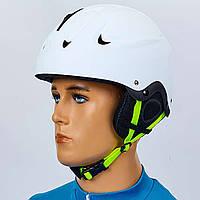 Шлем горнолыжный с механизмом регулировки MS-6288-W