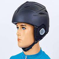 Шлем горнолыжный с механизмом регулировки MS-6295-BK