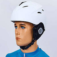 Шлем горнолыжный с механизмом регулировки MS-6295-W