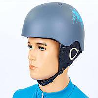 Шлем горнолыжный с механизмом регулировки MS-6289-GR