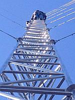 Мачта алюминиевая M440FL высота 28 метров