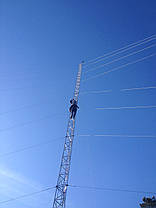 Мачта алюминиевая M440FL высота 28 метров, фото 2