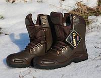 Берцы ЗСУ Тип B ( кожа ) зима, цвет коричневый. Мембрана Gore-Tex.
