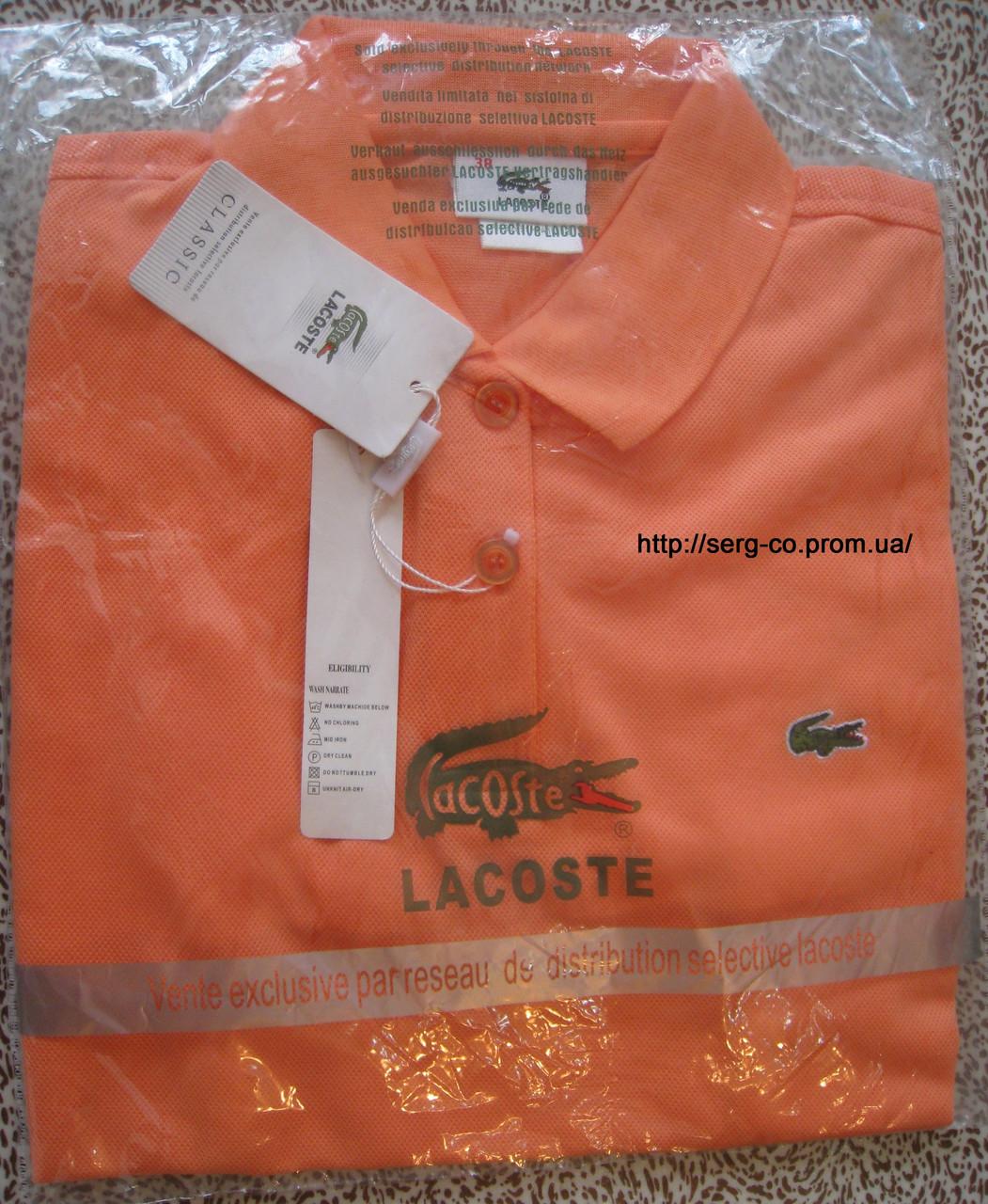 LACOSTE женские футболки поло лакоста лакосте купить в Украине, фото 1