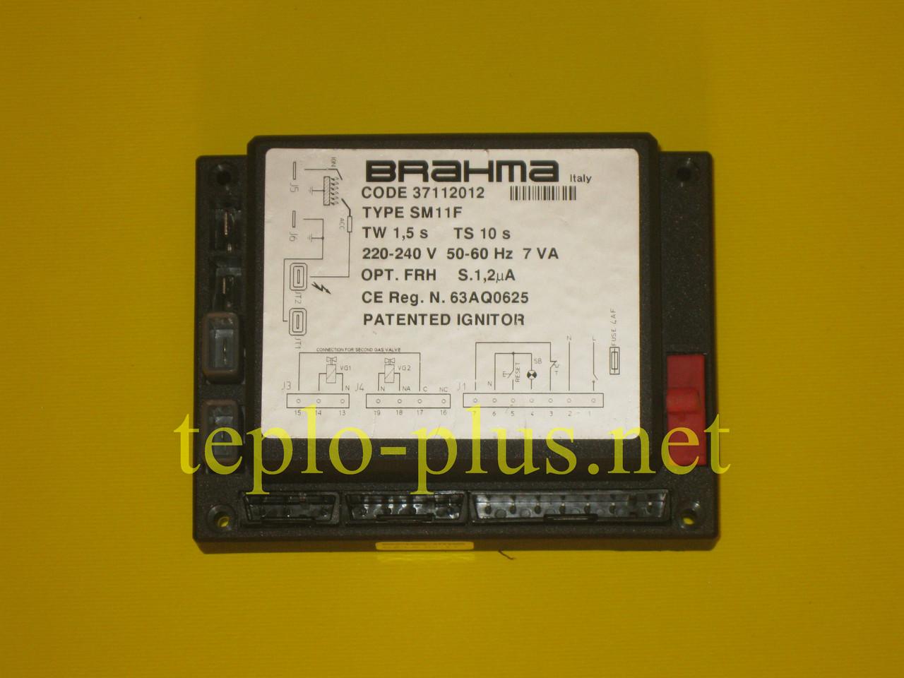 Плата (блок розпалювання (запалювання) Brahma SM11F 37112012 Bongioanni Eurobongas