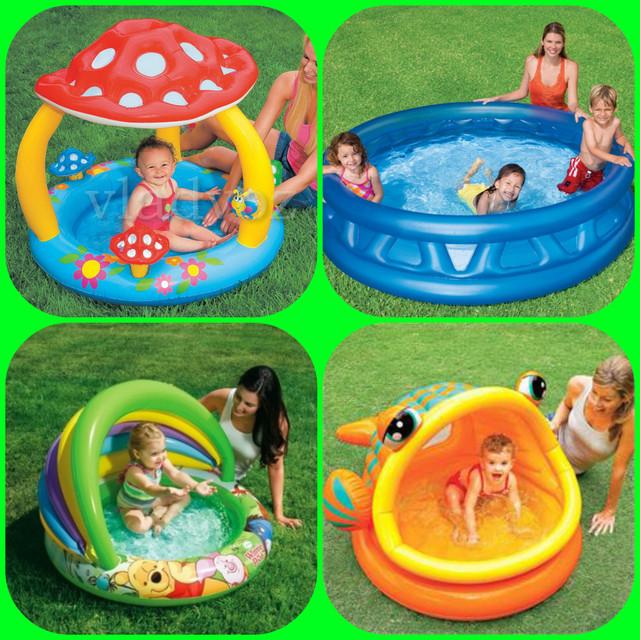 Коллаж с бассейнами