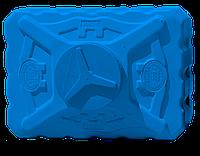 Бак для душа Евро Пласт трехслойный 200 л синий