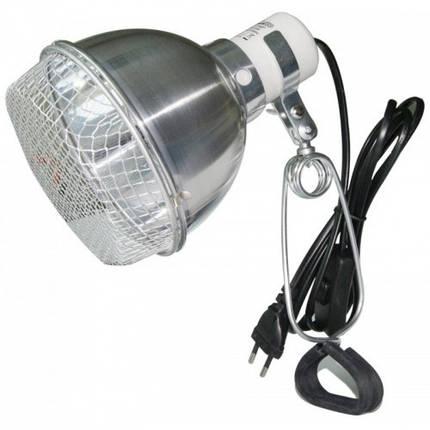 Светильник рефлекторный с защитной сеткой Repti-Zoo 75W, фото 2