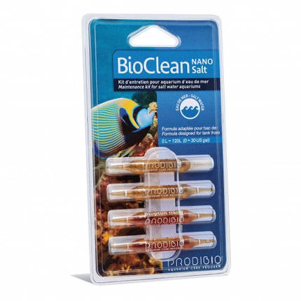 Набор для ухода за аквариумом с морской водой Prodibio BioClean Salt , фото 2