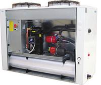 Чиллер воздушного охлаждения EMICON RAE 201 U Kc со спиральными компрессорами и осевыми вентиляторами