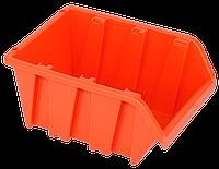 Контейнер вставной малый 160х100х85 мм Оранжевый