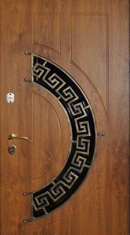 """Входная дверь для улицы """"Портала"""" (Премиум Vinorit) ― модель Ковка 24"""