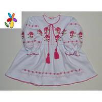 Платье - вышиванка детское Розы Размер 86, 92 см, фото 1