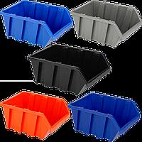 Ящик для метизов вставной средний  230х160х120 мм Синий, фото 1