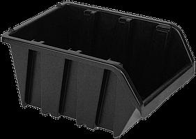 Контейнер вставний великий чорний 375х235х175 мм
