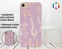 Силиконовый чехол для Huawei P smart Plus Милые цветы (17148-3204)