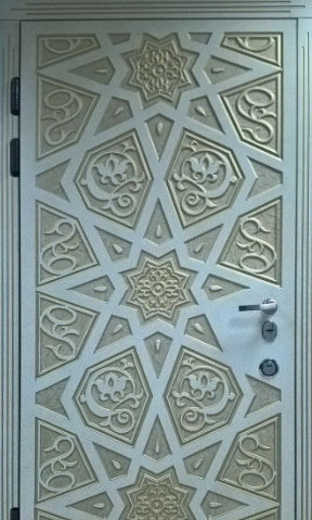 """Входная дверь для улицы """"Портала"""" (Элит Vinorit) ― модель Агни Patina"""