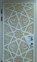 """Входная дверь для улицы """"Портала"""" (Элит Vinorit) ― модель Агни Patina, фото 1"""