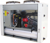 Чиллер воздушного охлаждения EMICON RAE 702 U Kc со спиральными  компрессорами и осевыми вентиляторами