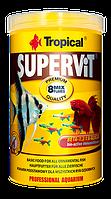 ТРОПИКАЛ СУПЕРВИТ 1л,200гр-основной корм для всех видов аквариумных рыб