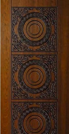"""Входная дверь для улицы """"Портала"""" (Элит Vinorit) ― модель АМ19 Patina"""