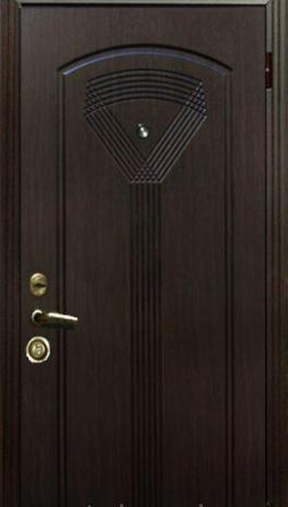 """Входная дверь для улицы """"Портала"""" (Элит Vinorit) ― модель Джента"""