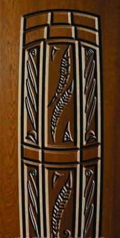 """Вхідні двері для вулиці """"Порталу"""" (Еліт Vinorit) ― модель АМ18 Patina"""