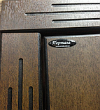 """Вхідні двері для вулиці """"Порталу"""" (Еліт Vinorit) ― модель АМ18 Patina, фото 2"""