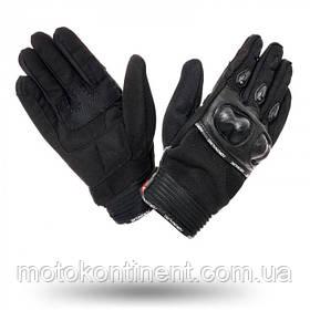 Мотоперчатки ADRENALINE MESHTEC 2.0 BLACK S,4XL