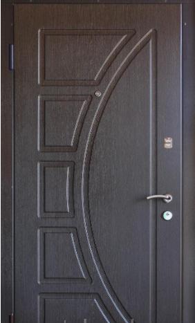 """Входная дверь для улицы """"Портала"""" (Элит Vinorit) ― модель Сфера, фото 1"""