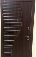 """Входная дверь для улицы """"Портала"""" (Элит Vinorit) ― модель Волна, фото 1"""