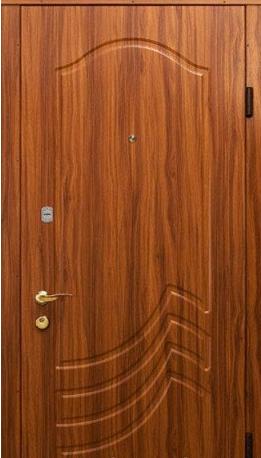 """Входная дверь для улицы """"Портала"""" (Элит Vinorit) ― модель Б12"""