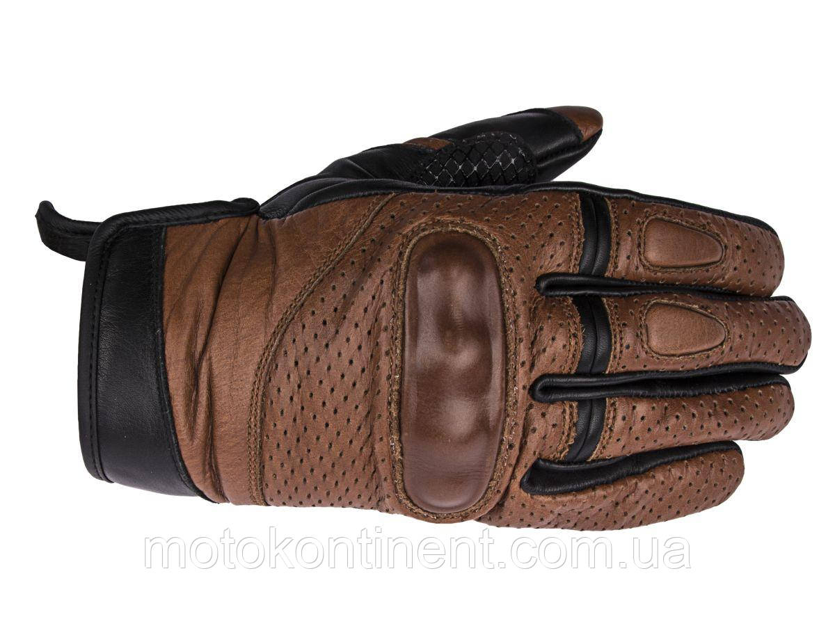 Мотоперчатки ADRENALINE SCRAMBLER 2.0 BROWN XS,M.2XL,3XL