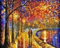 Картина по номерам Белоснежка «Пара у озера» 022-АВ, фото 3
